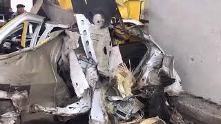 В Минеральных Водах взорвался автомобиль с ГБО