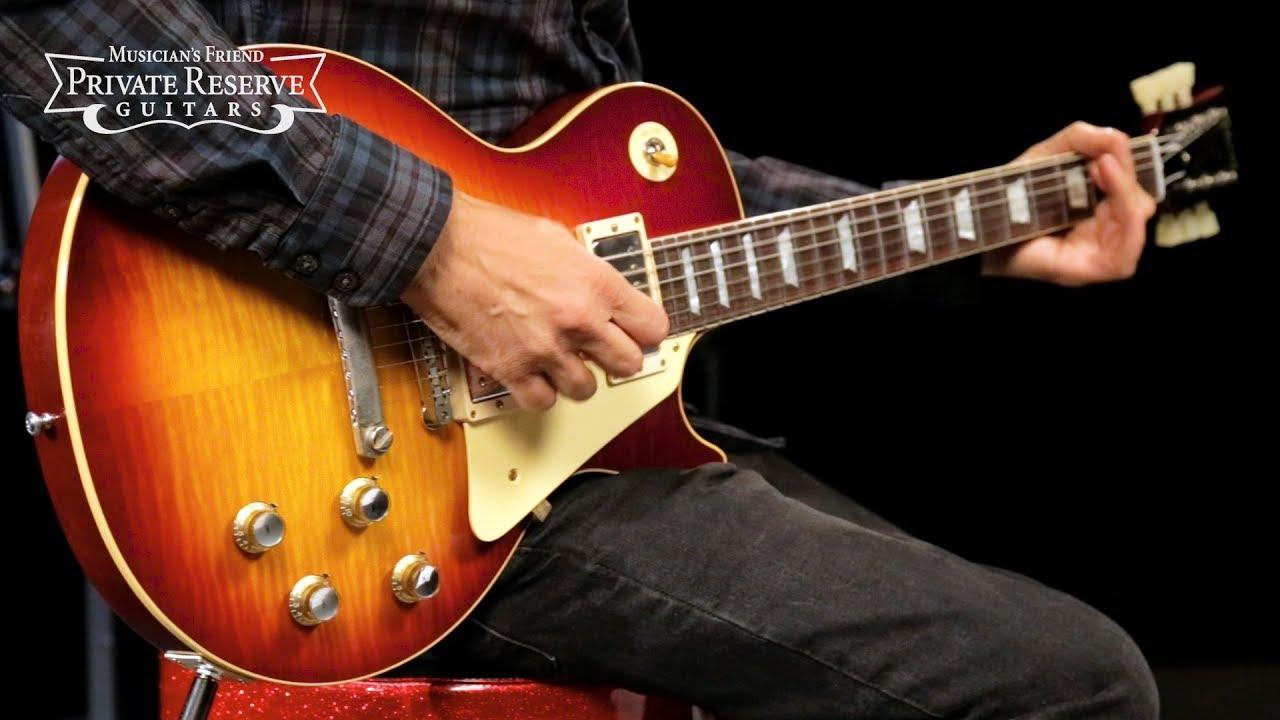 Gibson Custom 2018 VOS 1960 Les Paul Standard Electric Guitar