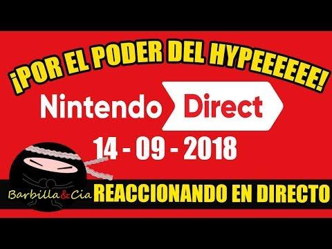 🔴¡Viva el hype!   Nintendo direct   REACCIONANDO EN DIRECTO   ¿anunciarán Yo-kai watch 3 o Galaxy?