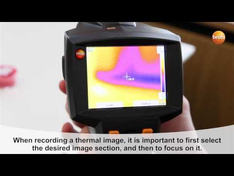 testo 875i - Step 08 - How to Record thermal images