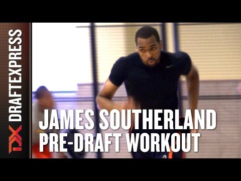 James Southerland - 2013 NBA Pre-Draft Workout & Interview