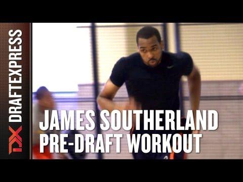 James Southerland - 2013 NBA Pre-Draft Workout & Interview