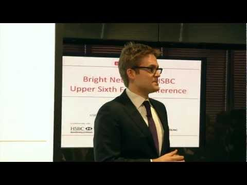 Bright Network &amp; HSBC Upper Sixth Form Conference video