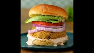Chickpea Cauliflower Burger by Tasty