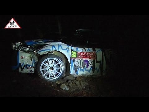 Crash Serderidis & close call Lo Fiego Rallye Monte-Carlo 2015 [Passats de canto]