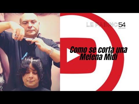 Como se corta una Melena Midi – Short Haircut midi Hair cutting Video Tutorial