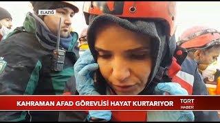 AFAD Görevlisi Enkaz Altındaki Vatandaşla Telefonda Konuştu
