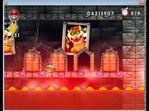 New Super Mario Forever 2012 [PC] Walkthrough - Map 8 + Ending