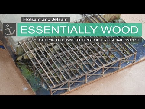 Flotsam & Jetsam   Essentially Wood   Shipyard at Foss Journal entry #8