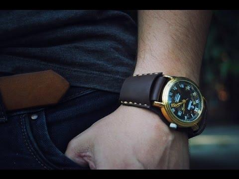 Браслет для часов своими руками мужской