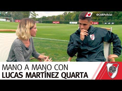 Mano a Mano con Lucas Martínez Quarta