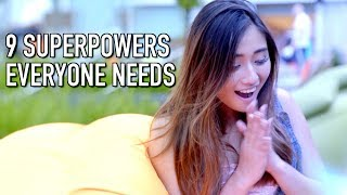 Video 9 SUPERPOWERS EVERYONE NEEDS MP3, 3GP, MP4, WEBM, AVI, FLV Desember 2018