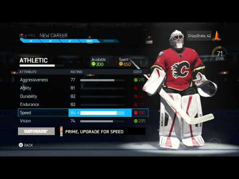 "NHL 15 Be A Pro Goalie: ""CAN I START?!?"" (NHL 15 Gameplay)"