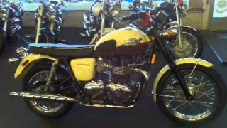7. 2011 Triumph Bonneville T100,