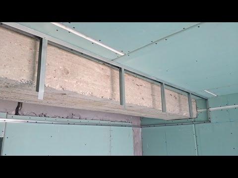 Натяжной потолок с подсветкой по периметру своими