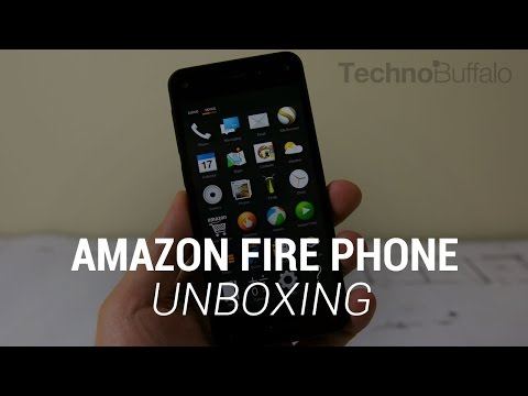 technobuffalo - Amazon Fire Phone Unboxing! Initial Thoughts: http://bit.ly/1lxv0jh Firefly Hands-On: http://bit.ly/1lxv3ve Fire Phone: http://amzn.to/1piZk5L It took Amazon four year to develop a smartphone,...