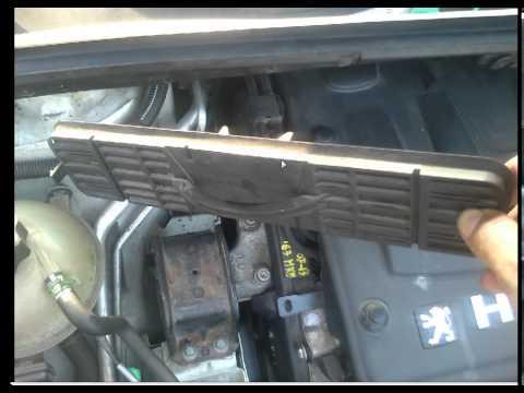 comment reparer klaxon 307