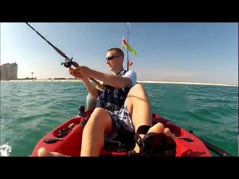 Kayak Fishing for King Mackerel – Navarre, FL