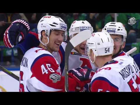 Елесин обновляет рекорд КХЛ на самую быструю шайбу (видео)