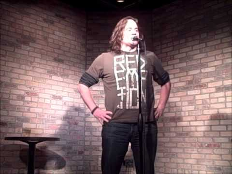 Nate Bjork buries a drunk open mic comic