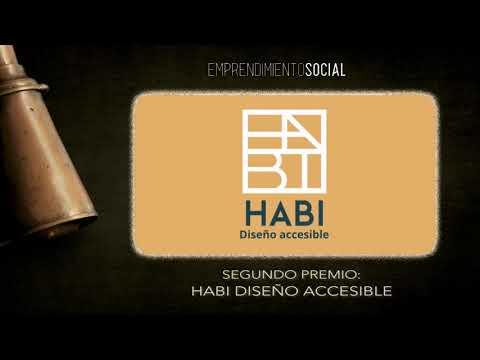 HABI Diseño Accesible: segundo galardonado I Premio de Emprendimiento Social La Noria