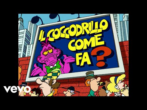 il coccodrillo come fa? video della canzoncina per bambini