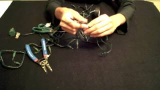 Download Video How to Shorten Christmas Lights & Remove the Top Plug MP3 3GP MP4