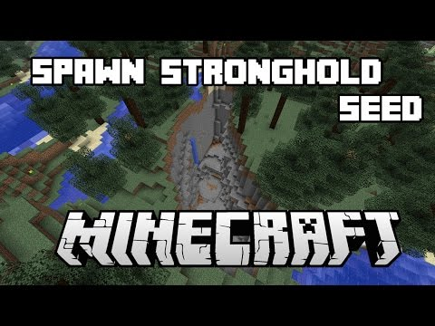 Minecraft STRONGHOLD AT SPAWN SEED - Best Minecraft Seeds