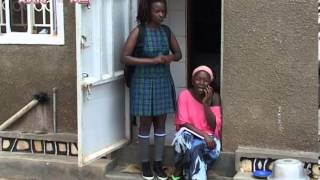 Kansiime Anne sends her child to school.