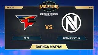 FaZe vs Team EnVyUs - DreamHack Marceille - map1 - de_train [Anishared, ceh9]
