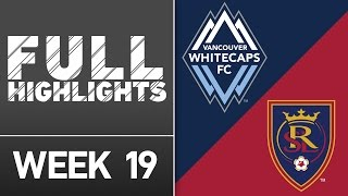 HIGHLIGHTS: Vancouver Whitecaps vs. Real Salt Lake | July 13, 2016 by Major League Soccer