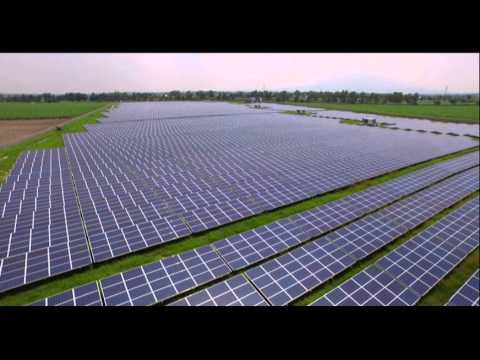 RASLAG Solar Power Plant in Pampanga, Philippines (By Conergy)