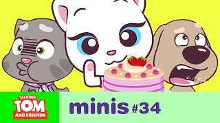 Video Talking Tom and Friends Minis - Angela's Pink Cake (Episode 34) MP3, 3GP, MP4, WEBM, AVI, FLV September 2019