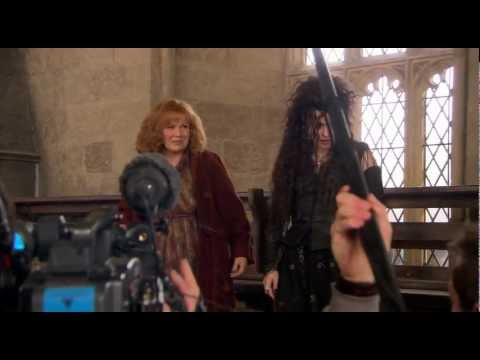 Molly Takes Down Bellatrix - The Deathly Hallows: Part 2