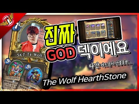 Wolf : Korean deck maker  / 한국의 덱 제조기 울프 ! [WOLF'S Hearthstone]