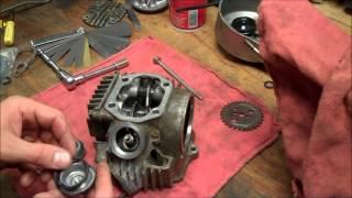 8. Honda CRF 50 - 88cc Big Bore Kit Install - Part 3 of 4