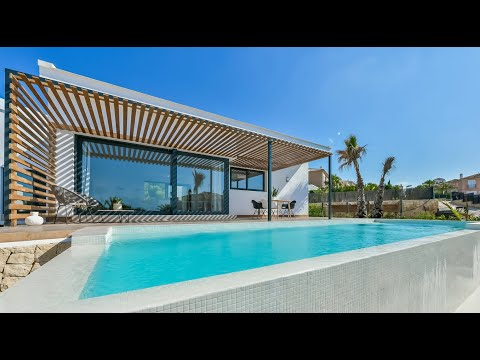 От 725000€/Современные дома в Испании/Вилла в Бенидорме в элитном районе Сьерра Кортина/Дом Хай-Тек