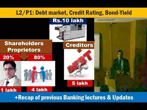 [Economy Lecture] L2/P1: Debt securities: Credit Rating, Bond-Yield, Muni.Bonds, SEBI norms