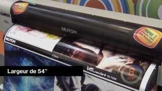 Presentation des Imprimantes Grand format Mutoh de SignMax