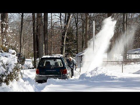 ΗΠΑ: «Χιονοστιβάδα» προβλημάτων λόγω της σφοδρής κακοκαιρίας