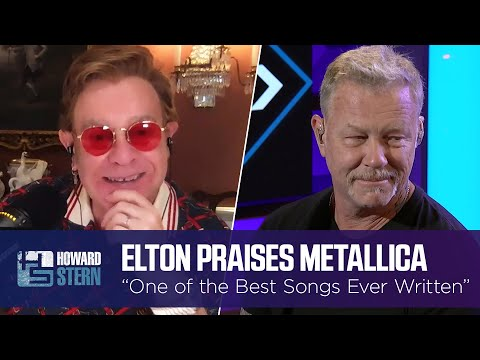 """Elton John Calls This Metallica Track """"One of the Best Songs Ever Written"""""""