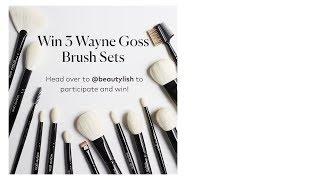 WAYNE GOSS BRUSH GIVE AWAY X BEAUTYLISH!!!! by Wayne Goss