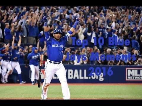 Top 10 Blue Jays Moments 2016