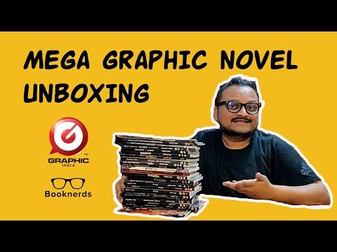 Mega Graphic Novel Unboxing   Graphic India