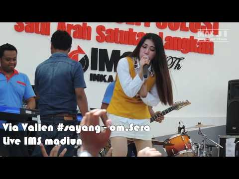 Video Via Vallen - Live IMS madiun - Sayang #om.Sera - 2017 #mannequin challenge song(HD) download in MP3, 3GP, MP4, WEBM, AVI, FLV February 2017