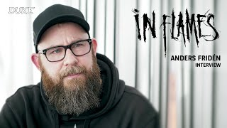 In Flames - Interview Anders Fridén - Paris 2019