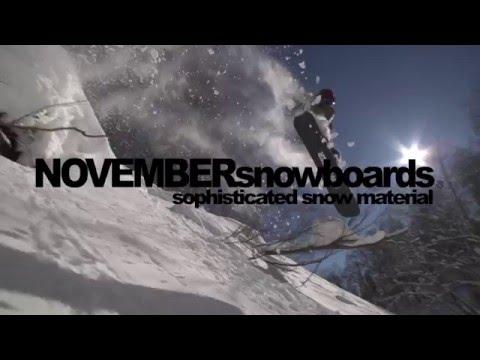 NOVEMBER SNOWBOARDS 2016