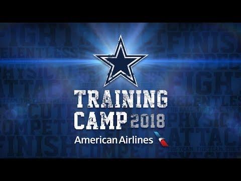 Go Cowboys Go !!! Dallas Cowboys Training Camp Oxnard July 2018 CA