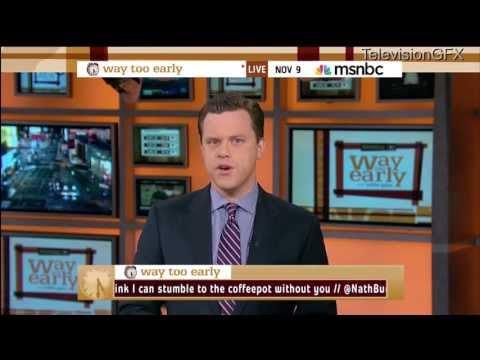 Willie Geist's last Way Too Early on MSNBC