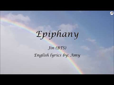 Epiphany - English KARAOKE (Piano Instrumental) - Jin (BTS)